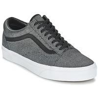 Παπούτσια Γυναίκα Χαμηλά Sneakers Vans OLD SKOOL Black / Délavé