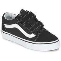 Παπούτσια Παιδί Χαμηλά Sneakers Vans OLD SKOOL V Black / Άσπρο