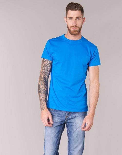 Υφασμάτινα Άνδρας T-shirt με κοντά μανίκια BOTD ESTOILA Μπλέ