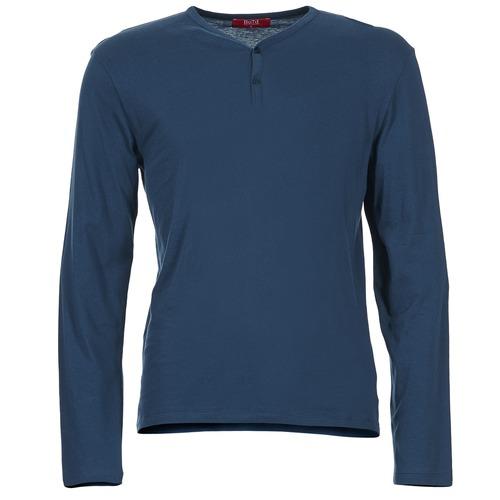 Υφασμάτινα Άνδρας Μπλουζάκια με μακριά μανίκια BOTD ETUNAMA MARINE