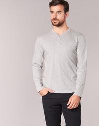 Υφασμάτινα Άνδρας Μπλουζάκια με μακριά μανίκια BOTD ETUNAMA Grey