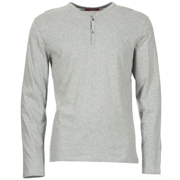 Υφασμάτινα Άνδρας Μπλουζάκια με μακριά μανίκια BOTD ETUNAMA Grey / Chiné