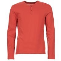 Υφασμάτινα Άνδρας Μπλουζάκια με μακριά μανίκια BOTD ETUNAMA Red
