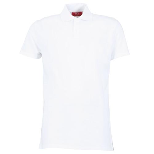 Υφασμάτινα Άνδρας Πόλο με κοντά μανίκια  BOTD EPOLARO άσπρο