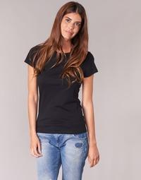 Υφασμάτινα Γυναίκα T-shirt με κοντά μανίκια BOTD EQUATILA Black