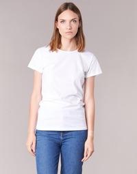 Υφασμάτινα Γυναίκα T-shirt με κοντά μανίκια BOTD EQUATILA Άσπρο