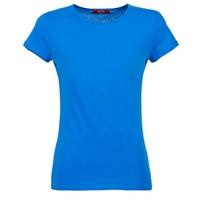 Υφασμάτινα Γυναίκα T-shirt με κοντά μανίκια BOTD EQUATILA Μπλέ