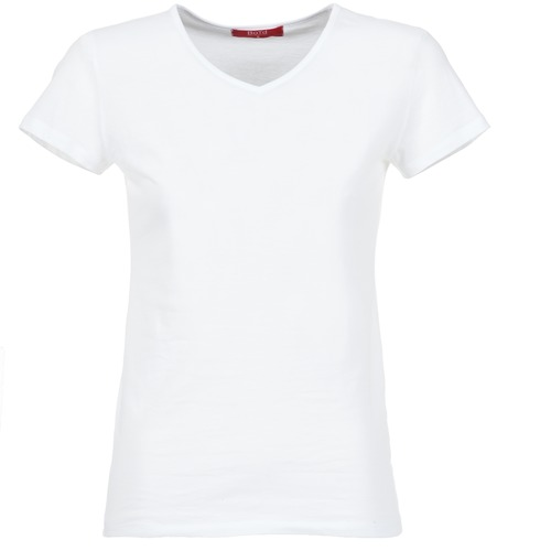 Υφασμάτινα Γυναίκα T-shirt με κοντά μανίκια BOTD EFLOMU Άσπρο