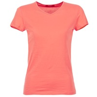 Υφασμάτινα Γυναίκα T-shirt με κοντά μανίκια BOTD EFLOMU Orange