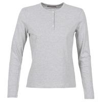 Υφασμάτινα Γυναίκα Μπλουζάκια με μακριά μανίκια BOTD EBISCOL Grey / Chiné