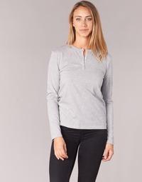 Υφασμάτινα Γυναίκα Μπλουζάκια με μακριά μανίκια BOTD EBISCOL Grey