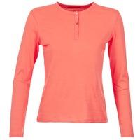 Υφασμάτινα Γυναίκα Μπλουζάκια με μακριά μανίκια BOTD EBISCOL Corail