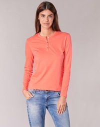 Υφασμάτινα Γυναίκα Μπλουζάκια με μακριά μανίκια BOTD EBISCOL Orange