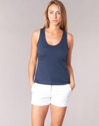 Υφασμάτινα Γυναίκα Αμάνικα / T-shirts χωρίς μανίκια BOTD EDEBALA Marine