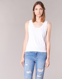 Υφασμάτινα Γυναίκα Αμάνικα / T-shirts χωρίς μανίκια BOTD EDEBALA Άσπρο