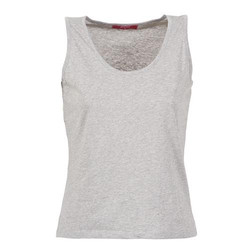 Υφασμάτινα Γυναίκα Αμάνικα / T-shirts χωρίς μανίκια BOTD EDEBALA Grey