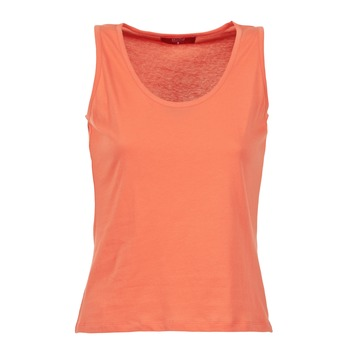 Υφασμάτινα Γυναίκα Αμάνικα / T-shirts χωρίς μανίκια BOTD EDEBALA Corail
