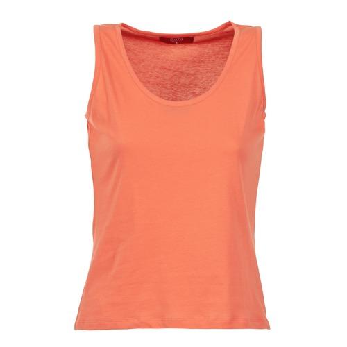 Υφασμάτινα Γυναίκα Αμάνικα / T-shirts χωρίς μανίκια BOTD EDEBALA Orange