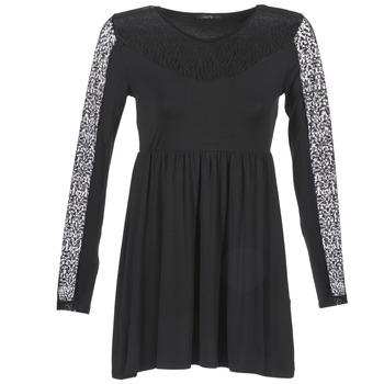Υφασμάτινα Γυναίκα Κοντά Φορέματα School Rag ROSELYN Black