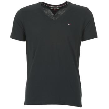 Υφασμάτινα Άνδρας T-shirt με κοντά μανίκια Tommy Jeans MALATO Black