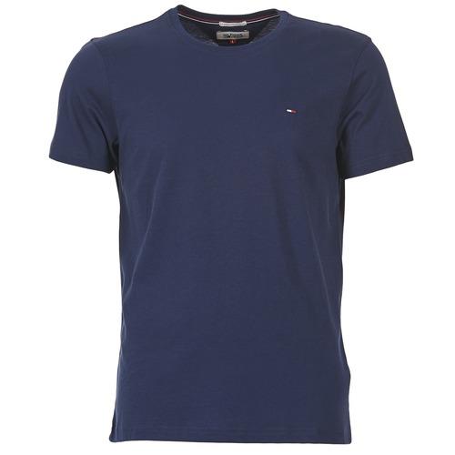 Υφασμάτινα Άνδρας T-shirt με κοντά μανίκια Tommy Jeans OFLEKI Marine