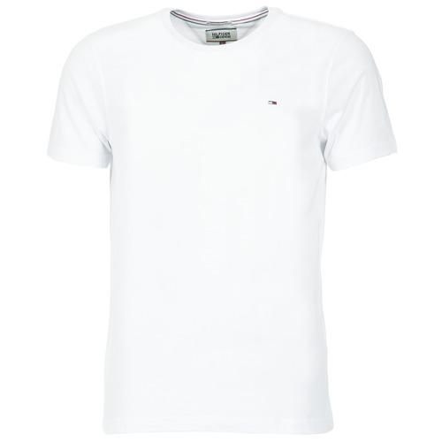 Υφασμάτινα Άνδρας T-shirt με κοντά μανίκια Tommy Jeans OFLEKI Άσπρο