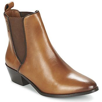 Παπούτσια Γυναίκα Μποτίνια Pepe jeans DINA Brown