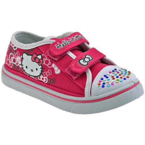 Παπούτσια Παιδί Χαμηλά Sneakers Hello Kitty  Ροζ