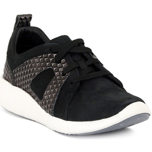 Παπούτσια Γυναίκα Χαμηλά Sneakers Clarks COWLEY FAYE Nero