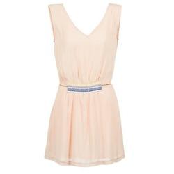 Υφασμάτινα Γυναίκα Κοντά Φορέματα Moony Mood EARINE ροζ