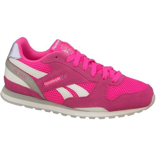 Παπούτσια Γυναίκα Χαμηλά Sneakers Reebok Sport GL 3000 Rose