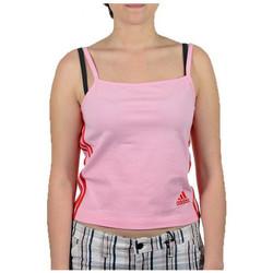 Υφασμάτινα Γυναίκα Αμάνικα / T-shirts χωρίς μανίκια adidas Originals  Ροζ
