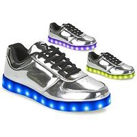 Παπούτσια Γυναίκα Χαμηλά Sneakers Wize & Ope THE LIGHT Silver