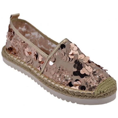 Παπούτσια Γυναίκα Εσπαντρίγια Gold&gold