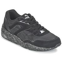 Παπούτσια Άνδρας Χαμηλά Sneakers Puma R698 SPECKLE V2 Black / Argenté