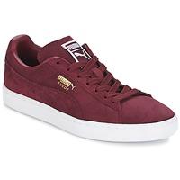 Παπούτσια Άνδρας Χαμηλά Sneakers Puma SUEDE CLASSIC + Bordeaux