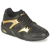 Παπούτσια Γυναίκα Χαμηλά Sneakers Puma BLAZE GOLD WN'S Black / Gold