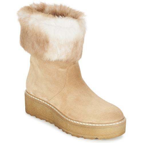 Παπούτσια Γυναίκα Μπότες Nome Footwear MOVETTA Beige