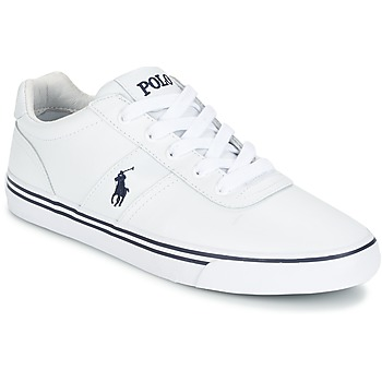 Παπούτσια Άνδρας Χαμηλά Sneakers Ralph Lauren HANFORD Άσπρο