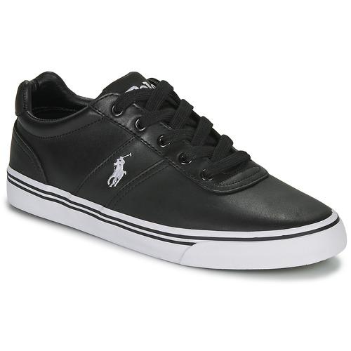 Παπούτσια Άνδρας Χαμηλά Sneakers Polo Ralph Lauren HANFORD Black
