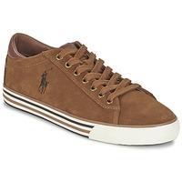 Παπούτσια Άνδρας Χαμηλά Sneakers Ralph Lauren HARVEY COGNAC