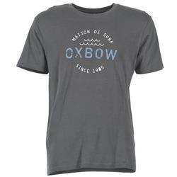 Υφασμάτινα Άνδρας T-shirt με κοντά μανίκια Oxbow TANKER Grey