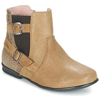 Παπούτσια Κορίτσι Μπότες Aster DESIA Beige