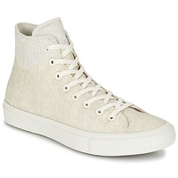 Παπούτσια Ψηλά Sneakers Converse CHUCK TAYLOR ALL STAR II  CAOUTCHOUC HI Beige