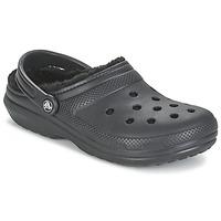 Παπούτσια Σαμπό Crocs CLASSIC LINED CLOG Black