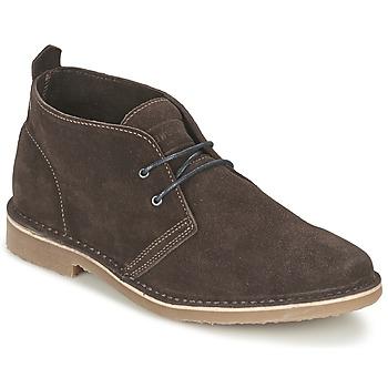 Παπούτσια Άνδρας Μπότες Jack & Jones GOBI SUEDE DESERT BOOT Brown