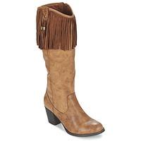 Παπούτσια Γυναίκα Μπότες για την πόλη Refresh TRITOU Camel