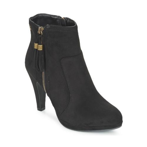 Παπούτσια Γυναίκα Μποτίνια Refresh MINU Black