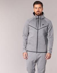 Υφασμάτινα Άνδρας Μπουφάν Nike TECH FLEECE WINDRUNNER HOODIE Grey
