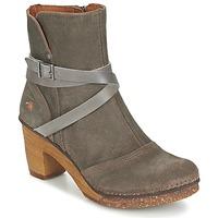 Παπούτσια Γυναίκα Μποτίνια Art AMSTERDAM Grey